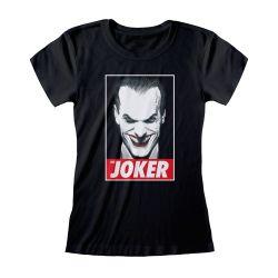 T-shirt Femme NOIR DC Batman - The Joker