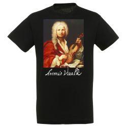 T-shirt NOIR Antonio Vivaldi