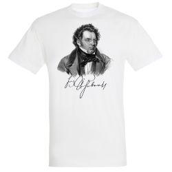 T-shirt BLANC Franz Schubert