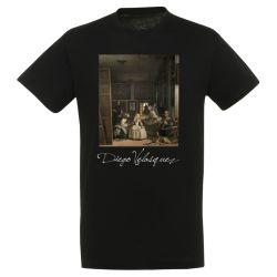 T-shirt NOIR Diego Velasquez - Les Menines