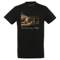 T-shirt NOIR Francisco de Goya -  Le trois mai