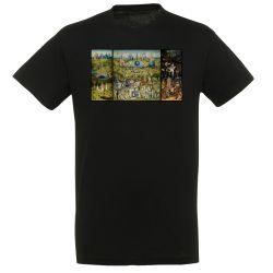 T-shirt NOIR Jerome Bosch - Le Jardin des delices