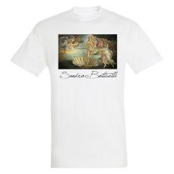 T-shirt BLANC Sandro Botticelli - La naissance de Venus