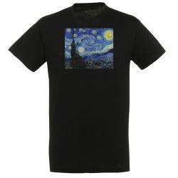 T-shirt NOIR Vincent Van Gogh - La nuit Etoilee