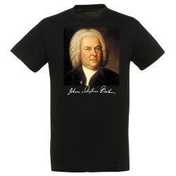 T-shirt NOIR Jean Sebastien Bach