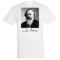 T-shirt BLANC Johannes Brahms