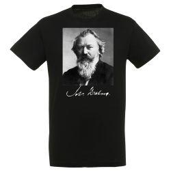 T-shirt NOIR Johannes Brahms