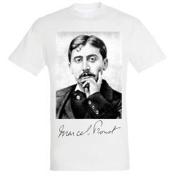T-shirt BLANC Marcel Proust