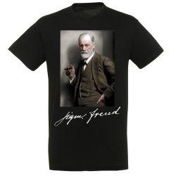 T-shirt NOIR Freud