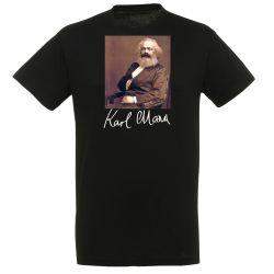 T-shirt NOIR Karl Marx
