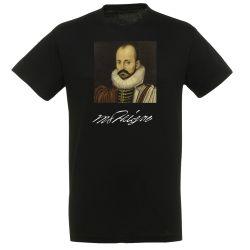 T-shirt NOIR Montaigne