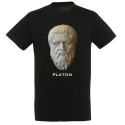 T-shirt NOIR Platon