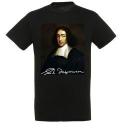 T-shirt NOIR Spinoza