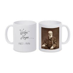 Mug BLANC Victor Hugo