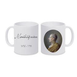 Mug BLANC Montesquieu
