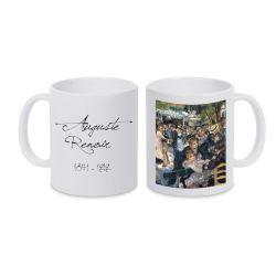 Mug BLANC Auguste Renoir - Le bal du moulin de la galette