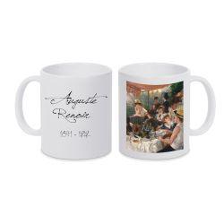 Mug BLANC Auguste Renoir - Le dejeuner des cannotiers