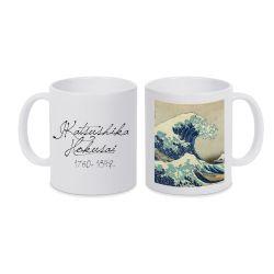 Mug BLANC Hokusai - La Grande Vague de Kanagawa