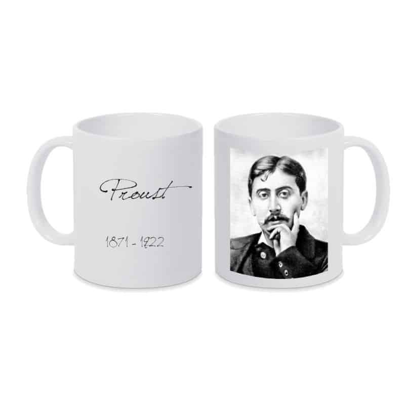 Mug BLANC Marcel Proust