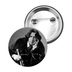 Badge Epingle Oscar Wilde