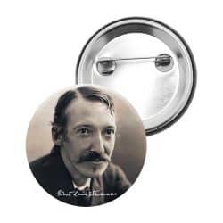 Badge Epingle Robert Louis Stevenson