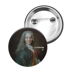 Badge Epingle Voltaire
