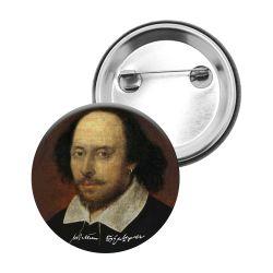 Badge Epingle William Shakespeare