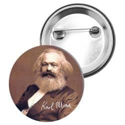 Badge Epingle Karl Marx
