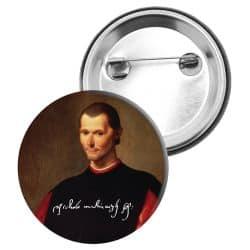 Badge Epingle Machiavel
