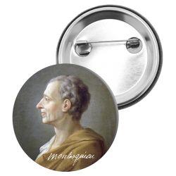 Badge Epingle Montesquieu