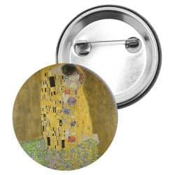 Badge Epingle Gustav Klimt - Le Baiser