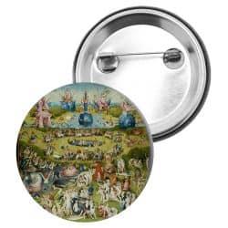 Badge Epingle Jerome Bosch - Le Jardin des delices