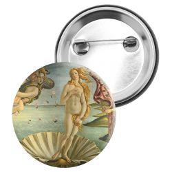 Badge Epingle Sandro Botticelli - La naissance de Venus