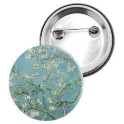 Badge Epingle Vincent Van gogh - Amandier en fleurs