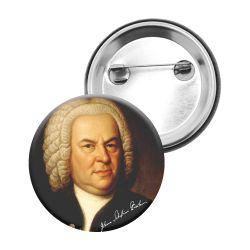 Badge Epingle Jean Sebastien Bach