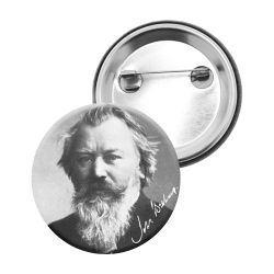 Badge Epingle Johannes Brahms