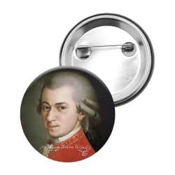 Badge Epingle Wolfgang Amadeus Mozart