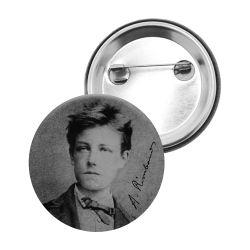 Badge Epingle Arthur Rimbaud
