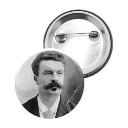 Badge Epingle Guy de Maupassant