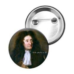 Badge Epingle Jean de la Fontaine