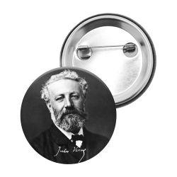 Badge Epingle Jules Vernes
