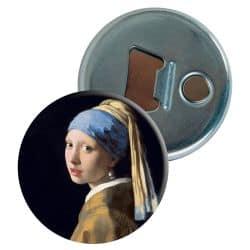 Decapsuleur Johannes Vermeer - La jeune fille à la perle