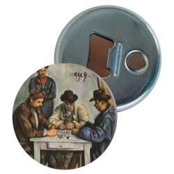 Decapsuleur Paul Cezanne - Les joueurs de cartes
