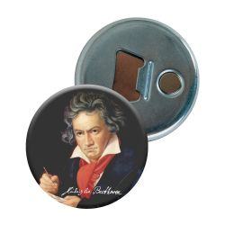 Decapsuleur Ludwig Van Beethoven Portrait peint