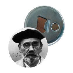 Decapsuleur Emile Zola Portrait Beret