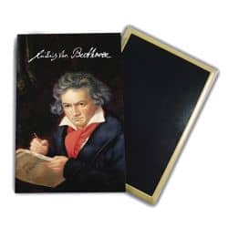 Magnet Ludwig Van Beethoven Portrait peint