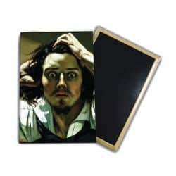 Magnet Gustave Courbet - Le desespere