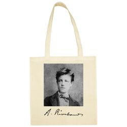Sac Shopping ECRU Arthur Rimbaud