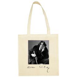 Sac Shopping ECRU Oscar Wilde
