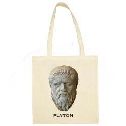 Sac Shopping ECRU Platon